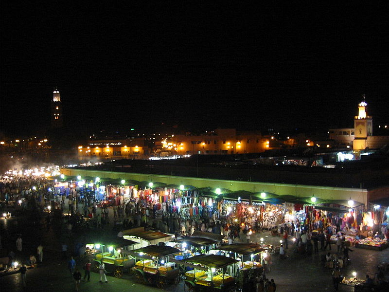 Noche en MArrakech