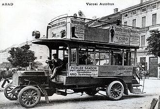 Astra Automobile & Waggon Factory - Image: Marta autobus