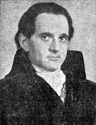 Danton's Death - Martin Gabel as Danton in the Mercury Theatre's Broadway production of Danton's Death (1938)