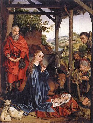 Martin Schongauer - Nativity - WGA21041