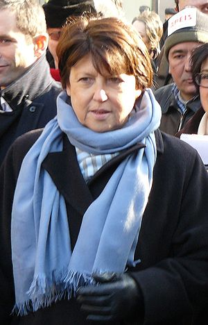 European Parliament election, 2009 (France) - Image: Martine Aubry