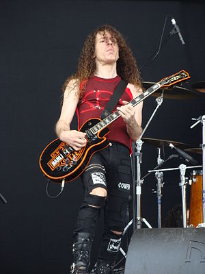 Marty Friedman - Marty Friedman at Gods of Metal in 2009