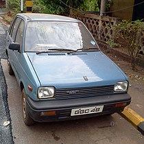 Maruti 800 1980s model Goa 2013-05.jpg