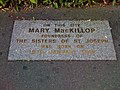 Mary MacKillop memorial marker.jpg