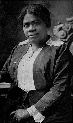 Mary McLeod Bethune portrait