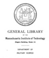Massachusetts Institute of Technology Military Science bookplate.png