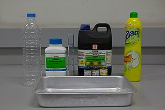 Elephant's toothpaste - Materials for the experiment