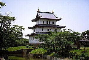 松前城's relation image