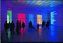 Maurizio Nannucci Puro rosso puro giallo puro blu 1990; Anthology 1967/1990; Archetipo 1968 installation at Wiener Secession Wien 1990 & Neon lighting - Wikipedia azcodes.com