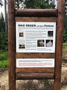Max-Reger-Fels (Quelle: Wikimedia)