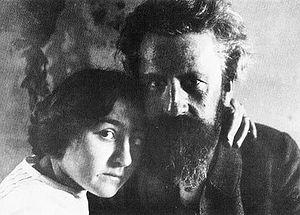 Max Kruse (sculptor) - Max and Käthe Kruse (c. 1908)