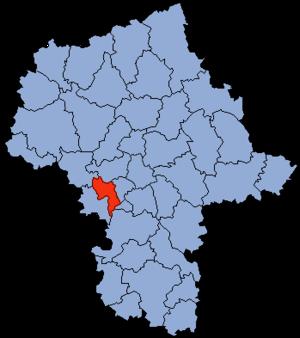 Grodzisk Mazowiecki County - Image: Mazowsze Grodziski Mazowiecki