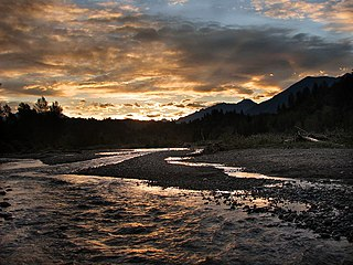 Vedder River river in Washington state, US and British Columbia, Canada