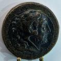 Medaglione di commodo con testa dell'imperatore nella pelle di leone.JPG
