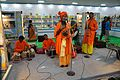 Meghlal Sarkar and Group - Baul Song Performance - West Bengal Pavilion Interior - 39th International Kolkata Book Fair - Milan Mela Complex - Kolkata 2015-01-29 5250.JPG