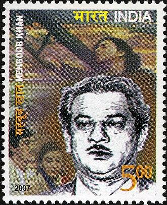 Mehboob Khan - Mehboob Khan 2007 stamp of India