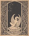 Melchior Lechter, Zeichnung für Stefan George, Der siebente Ring, 1907.jpg