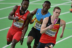 Men's 4 × 400 metres relay Portland 2016.jpg