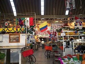 Colombian Mexicans - Mercado de Medellín, is a popular market from Mexico City, used principally by the Cuban and Colombian community.