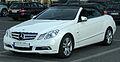 Mercedes E 350 CDI BlueEFFICIENCY Cabriolet (A207) front 20100821.jpg