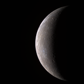 The first high-resolution color Wide Angle Camera image of Mercury acquired by MESSENGER