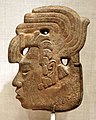 Messico o guatemala, maya, tardo periodo classico, profilo reale, 650-800 dc ca.jpg