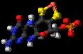 Metal-binding pterin anion ball.png
