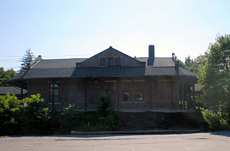 Manchester and Lawrence Railroad - Methuen Train Depot