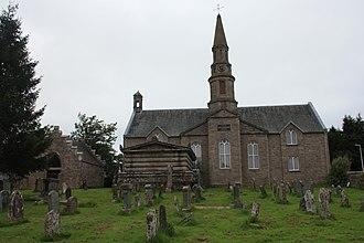 Methven, Perth and Kinross - Methven Church and churchyard
