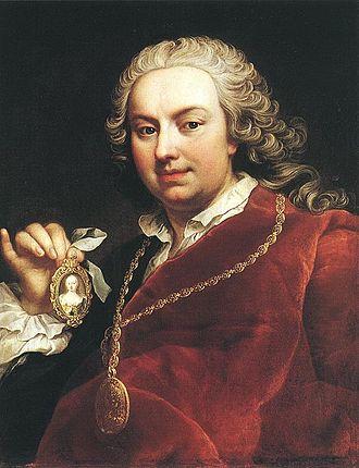 Martin van Meytens - Martin van Meytens, Self-Portrait, c. 1740s.