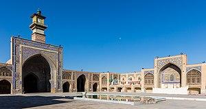 Seyyed mosque (Isfahan) - Image: Mezquita Seyyed, Isfahan, Irán, 2016 09 20, DD 19