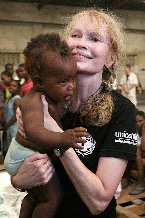 MiaFarrow UNICEF