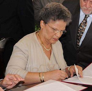 Michèle Pierre-Louis - Image: Michèle Pierre Louis 2009 (2)