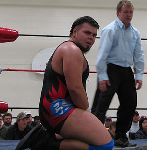 Michael Elgin - Elgin at an independent show in 2009