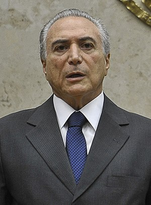 Brazilian general election, 2010 - Image: Michel Temer 1fev 2012 no stf
