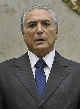Brazilian general election, 2014 - Image: Michel Temer 1fev 2012 no stf