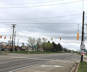 Michigan Avenue at Beech Daly Road Inkser Michigan.JPG