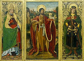 Sant Joan Baptista, Sant Fabià i Sant Sebastià
