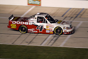 Bobby Hamilton Racing - The No. 4 truck in 2007.