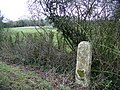Milestone, Dunn's Bridge - geograph.org.uk - 1156125.jpg