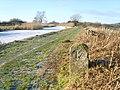 Milestone, Lancaster Canal - geograph.org.uk - 1659754.jpg