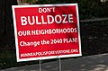 """Minneapolis for Everyone Signs - """"Don't Bulldoze Our Neighborhoods, Change the 2040 Plan!"""" (29125176067).jpg"""