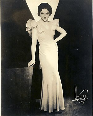 Miriam Battista - Miriam Battista in 1932, photo by Murray Korman