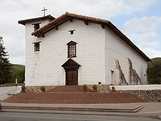 Mission San José (California) - Mission San José as it appeared in April of 2011.  ...........