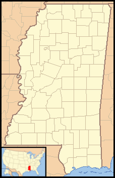 Shaw is located in Mississippi