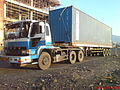 Mitsubishi fuso the great P-FV415JR V8 430PS.JPG