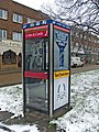 Modern Telephone Box at Oakwood Shopping Centre, N14 - geograph.org.uk - 322108.jpg