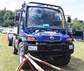 Modern Unimog 405 (UGN) in the UK - AE54 GWN at Belvoir 2011 (cropped).jpg
