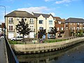Modern housing beside the River Avon, Fordingbridge. - geograph.org.uk - 61287.jpg