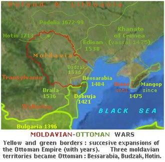 Moldavian–Ottoman Wars - Image: Moldavian Ottoman wars